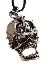 ожерелье из нержавеющей стали - скелет якорь