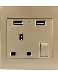 Multifunctional USB Socket 110V -250V