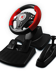 CMPICK Dual Shock Steering Wheel USB/PS2/PS3