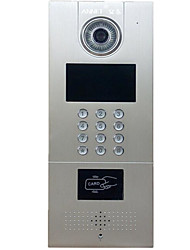 Wireless SIP Digital Mobile Phone Network Building Visual Intercom Doorbell TCP/IP Color Video Intercom Networking
