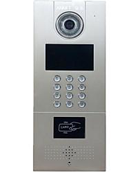 sorso digitale senza fili rete di telefonia mobile la costruzione citofono visivo campanello colore networking video citofono TCP / IP