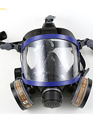 nh-9006 silicone anti-vírus totalmente confortável com dupla respirador filtro de cartucho químico facial integral