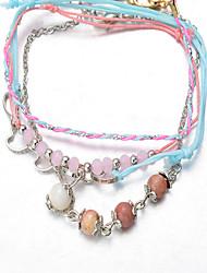 Bracelet Chaînes & Bracelets / Charmes pour Bracelets / Bracelets de rive / Bracelets Wrap / Loom Bracelet Alliage / Dentelle ModeSoirée