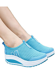 The New Sports Mesh Shoes Wedges Singles Shoes