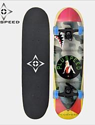 LED-Licht-Räder Skateboard (31 Zoll) 78,7 * 20cm LED-Licht-Räder ABEC-3 11mm9 Lagen Ahorndeck Hochgeschwindigkeitslager Räder