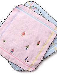 "1 Piece Full Cotton Wash Towel 9"" by 9"" Cartoon Pattern"