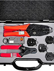 HT-330K Network Combination Tool Set, Replaceable Head Pressing Tool