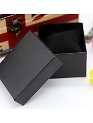 Black/Red/Pink Paper Jewelry Box