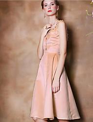 Pour My Fair Lady® Femme Col en V Sans Manches Au dessus des genoux Robes-1402041