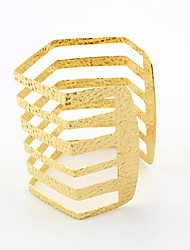 Gold Layered Bangle Bracelet
