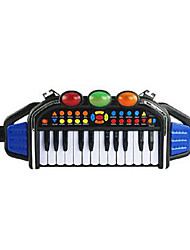 Puzzle multifunction keyboard musical toy drums