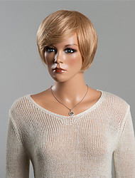 New Fashion Celebrity Hairstyle Short Straight Wig  Human Hair Wigs