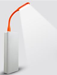 lampe ultra brillante souple conduit de livre pour pc portable pliable usb cou en métal portable conduit veilleuse couleur randomisation