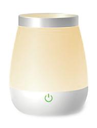 creativa sensor táctil recargable llevó la lámpara de luz nocturna