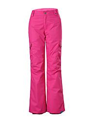 gsou neve outdoor subiu mulheres ski calças / calças de snowboard / mulheres senhoras respirável wearproof calças à prova de vento