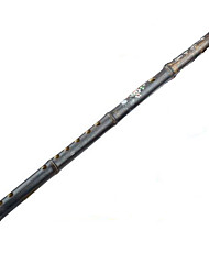 vertical, flauta de bambu g / f / e / d / a tecla c