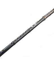flauta vertical de bambú g / f / e / d / c clave