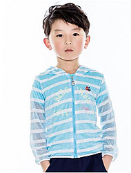 Boy's Cotton Trench Coat,Spring / Fall Print