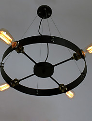60W Pendant Light ,  Modern/Contemporary / Traditional/Retro / Country Painting Feature for Mini Style