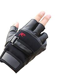 gants demi mâle est empêché se prélasser dans les gants tactiques glissante respirant fitness cuir gants moto vélo minces
