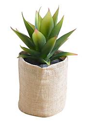 Soie / Polyuréthane Plantes Fleurs artificielles