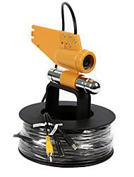 cctv 20meters 1000tvl seguridad 12pcs IR LED buscador de los pescados cámara de vídeo pesca submarina
