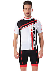 Sportif Vélo/Cyclisme Maillot + Short/Maillot+Cuissard / Hauts/Tops / Bas Homme Manches courtesRespirable / Elastique /