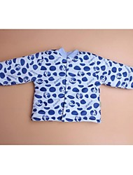 Baby Formal Polka Dot Blouse-Cotton-Winter-Blue / Brown / Pink