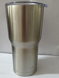 Hot Bilayer Stainless Steel Insulation Cup 30 OZ Cups Cars Beer Mug Large Capacity Mug Tumblerful