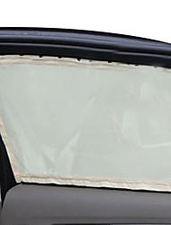 voiture soleil fenêtre côté de l'ombre filet de nylon rideau pare-soleil pliable protection uv