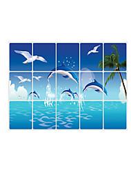 Animaux / Romance / Forme / 3D Stickers muraux Stickers avion Stickers muraux décoratifs,pvc Matériel Repositionable / AmovibleDécoration