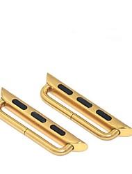 38mm Edelstahlkette Gurtverbinder iwatch für Apfel Uhr
