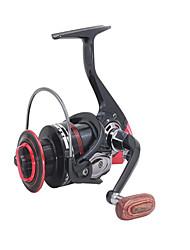 Molinetes Rotativos 5.2/1 12 Rolamentos Trocável Isco de Arremesso Pesca Geral-6000