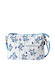 Flower Princess® Women Canvas Shoulder Bag Blue-1506X001