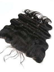8A Brazilian Human Hair Body Wave Free Part Ear to Ear 13*4 Lace Frontal Closure with Baby Hair