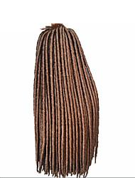 Fauxlocs braid hair synthetic braiding hair extension kanekalon soft dread nina softex havana mambo dreadlocs