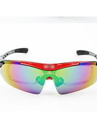 équitation lunettes de pêche sportive de vélo verres à lunettes avec un lot de cadre de la myopie