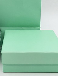 Jewelry Boxes Paper 1pc Green