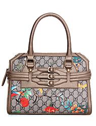 Women-Formal / Casual / Event/Party / Wedding / Office & CareerTote Handbag Flower Fashion Design Handbag Shoulder Bag