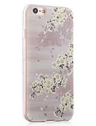 Back Shockproof Flower TPU Soft Shockproof Case Cover For Apple iPhone 6s Plus/6 Plus / iPhone 6s/6 526508776623