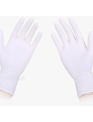 Disposable Rubber Gloves, Chemical Protective Gloves Oil Tattoo Gloves Medical Latex Gloves