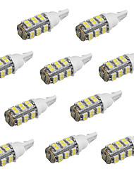10pcs T10 25 SMD3528 voiture de couleur blanche led ampoules (DC12V)