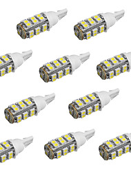 10pcs t10 25 smd3528 weiße Farbe Autolampen LED-Leuchten (12 V DC)