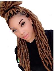 Гавана / Вязаные Спиральные плетенки Наращивание волос 20 Inch Kanekalon 20 нитка 90g грамм косы волос
