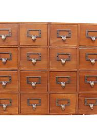 especiais de madeira retro criativo grade de cartão de cartão-chave coin pequenas coisas e coisas caixa de armazenamento de desktop