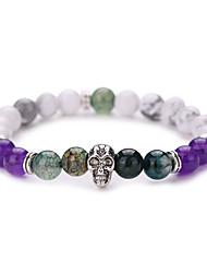 New Arrival Nature Stone Buddha Bracelet Strand Bracelets Daily / Casual 1pc Hot Sale  #YMGS1016