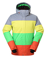 Gsou snow assorted colors top brand/ outdoor snowboard ski jacket /men waterproof windproof ski-wear
