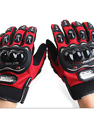PRO Full Finger Gloves Motorcycle Gloves UV Breathable Wear Non-Slip Drop Resistance Shock