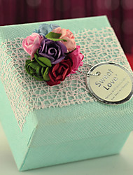 10 Piece/Set Favor Holder-Cubic Card Paper Wedding Favor Boxes Candy Boxes