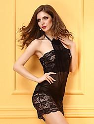 DonnaBabydoll e slip Camicie da notte e vestitini Lingerie con reggicalze Lingerie di pizzo Completini con top Vestaglie Sensuale
